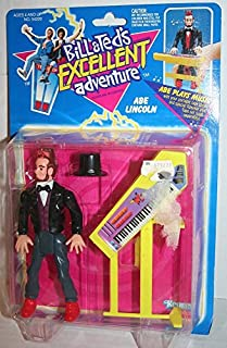 Bill and Ted's Excellent Adventure Abraham Abe Lincoln Vintage 1991 Action Figure