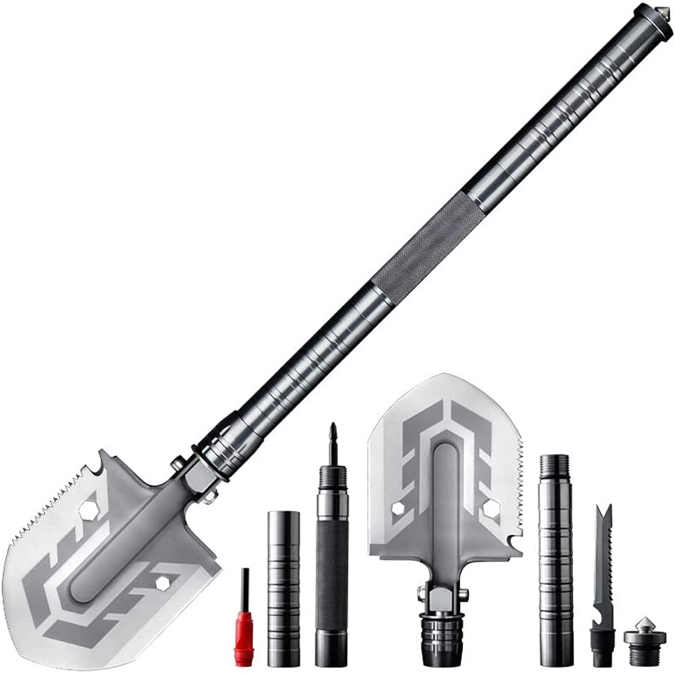 Max 53% OFF Unix Multi-Purpose Folding Shovel Campin Tool All items in the store 23-in-1 Ultimate