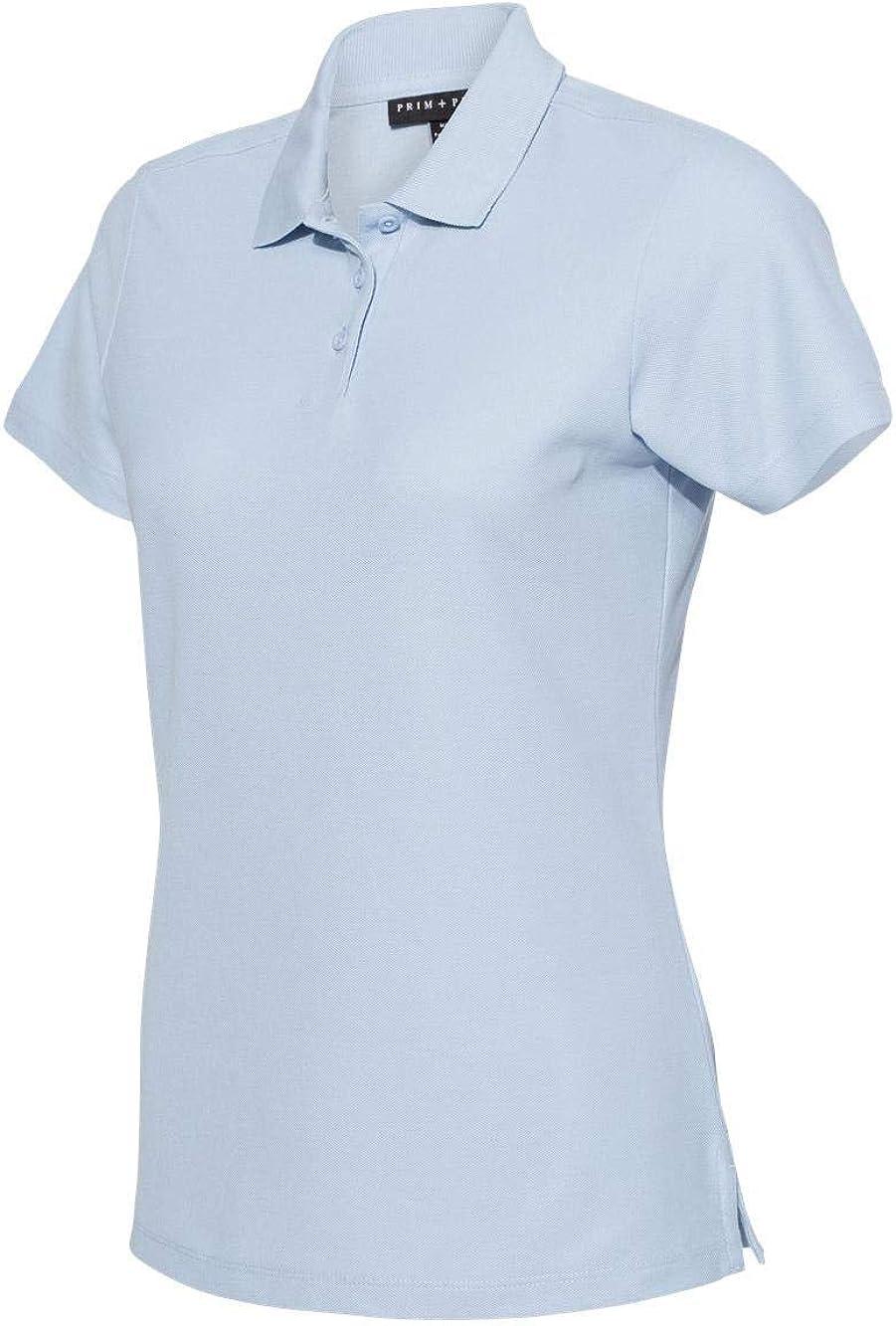 Prim + Preux - Women's Smart Sport Shirt - 2011L - S - Sky Blue