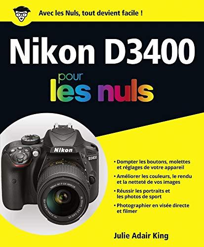 Nikon D3400 Pour les Nuls -éd. couleurs- (Edição Francesa)