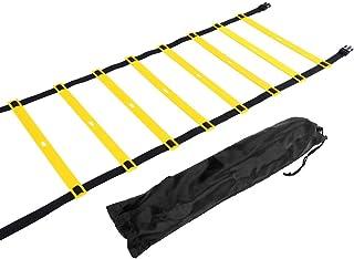 Tbest 4 m 6 m 8 m smidighet stege hastighet stege utökad plast agility stege för barn vuxna fotboll fotboll hastighet trän...