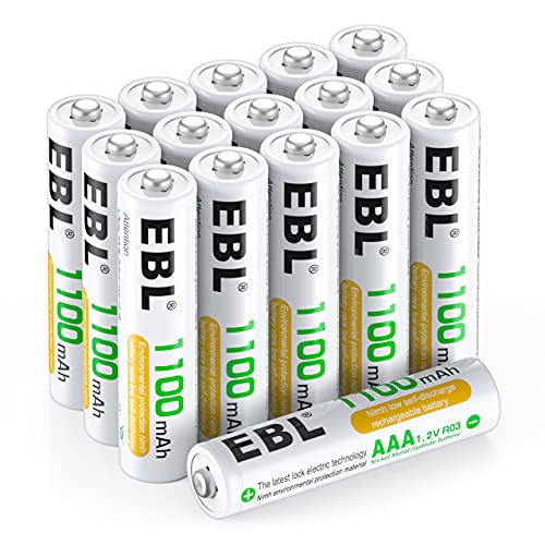 EBL EBL 1100mAh 16 Stück Typ Bild