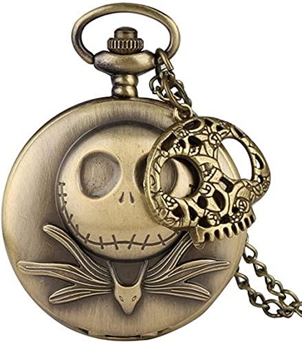 Reloj de Bolsillo Collar Reloj La Pesadilla Antes de Navidad Reloj de...