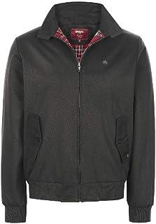 merc Harrington Jacket Mens Classic Vintage Retro Coat Tartan Lining (XX-Large, Black)