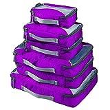 G4Free Emballage Cubes Voyage Organisateur pour Les Bagages avec Protecteur