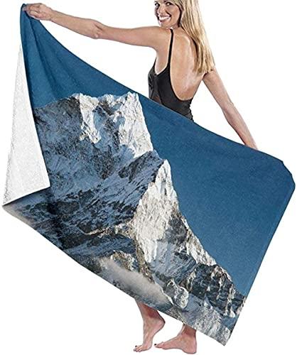 Telo Mare Grande 130 ×80cm, Bella vista,Asciugamano da Spiaggia in Microfibra Asciugatura Rapida,Ultra Morbido,Uomo,Donna,Bambina