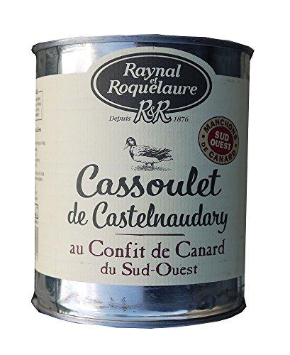 Raynal & Roquelaure Cassoulet de Castelnaudary au Confit de Canard Du Sud-Ouest 840g