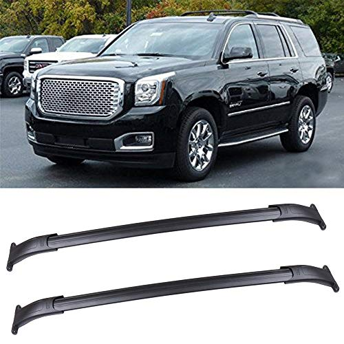 OCPTY Roof Rack Cross Bar Cargo Carrier Fit For Cadillac Escalade 2015-2020,for Chevrolet Suburban 2015-2020,for Chevrolet Tahoe 2015-2020,for GMC Yukon 2015-2020 Roof Rack Crossbars