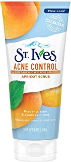St. Ives Acne Control Medicated Apricot Scrub, 6 Oz (3 Pack)