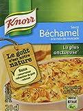 Knorr Sauce Béchamel à La Noix de Muscade 2X20cl - Lot de 6