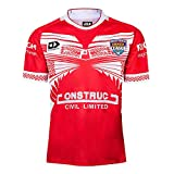 AFDLT Rugby Jersey,2019-20 Tonga Home,Polo Shirt,Summer Sports Loisirs T-Shirts,Hommes Respirant Maillot de Football,Red,XXXL