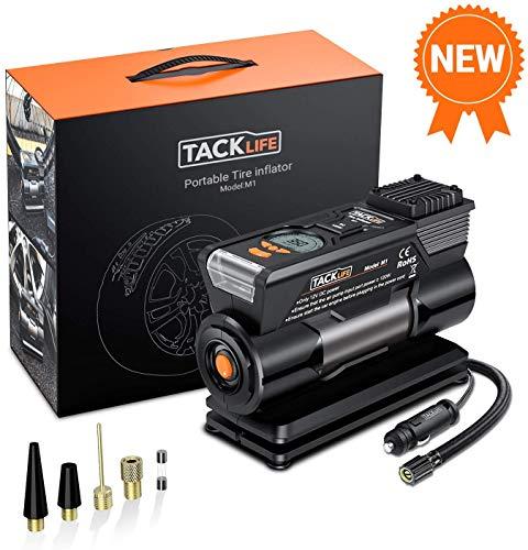 TACKLIFE M1 Compresor Aire Coche, Inflador Digital 150PSI, 40L/Min, Compresor de Aire...