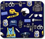 Art Plates Brand Mouse Pad - Police Department