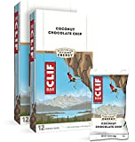 CLIF BAR - Energy Bars - Coconut Chocolate Chip - (2.4 Ounce Protein Bars, 24 Count)