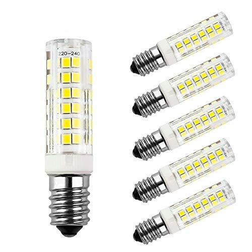 HiBay® 6er-Pack E14 LED 7W Lampe 680lm Warmweiß ersetzt 60W Glühlampen, E14 birne energiesparlampe led leuchtmittel 360° Nähmaschinenlampe/Wandlampe/Tischleuchte/Kronleuchter