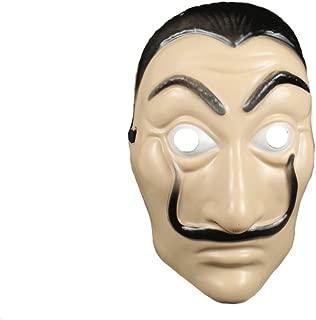 Moniku Salvador Dali La Casa De Papel Realistic Mask