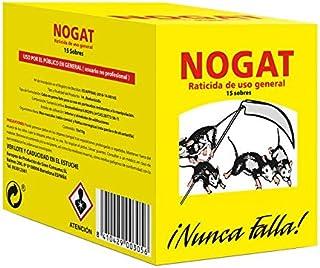 comprar comparacion Nogat Raticida, 15 sobres de 10 g