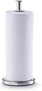 comprar comparacion Zeller 27242 Soporte para Paños de Cocina, Acero Inoxidable, Gris, 13x13x32 cm