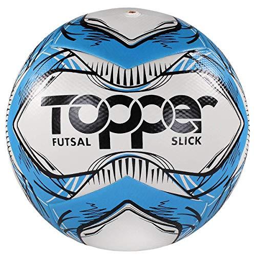 Bola Topper Slick Futsal Azul/ Preto