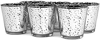 Koyal Wholesale 6-Pack Antique Votive Cup 3-inch Silver