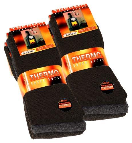 6 pares de calcetines térmicos