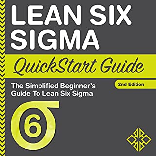 Lean Six Sigma QuickStart Guide audiobook cover art