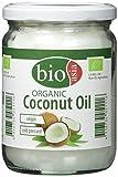 BIOASIA Bio Kokosöl, kaltgepresst, naturbelassen ohne Zusatzstoffe, veganes Fett zum Kochen, Braten...
