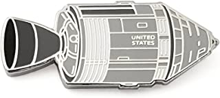 Apollo Lunar Capsule Enamel Lapel Pin
