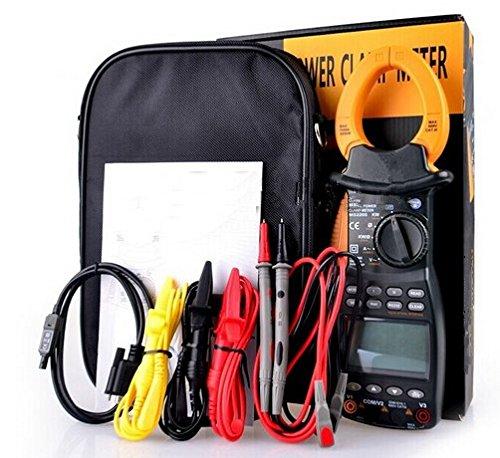 Gowe 9999Zählen Power Factor Meter für Power Sie sind Digital 3Phase Power Strommesszange