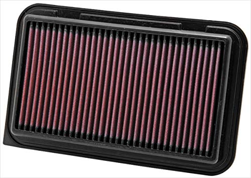 K&N 33-2974 Motorluftfilter: Hochleistung, Prämie, Abwaschbar, Ersatzfilter, Erhöhte Leistung, 2010-2017, Swift IV, Splash, Wagon R, Agila