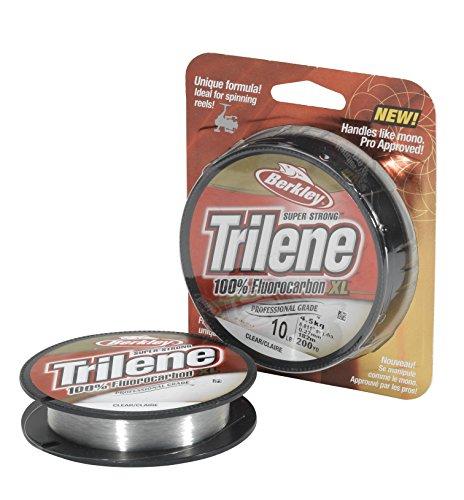 Berkley Trilene 100% fluorocarbono, XL, Unisex, Transparente, 24.2kg   53lb  50m