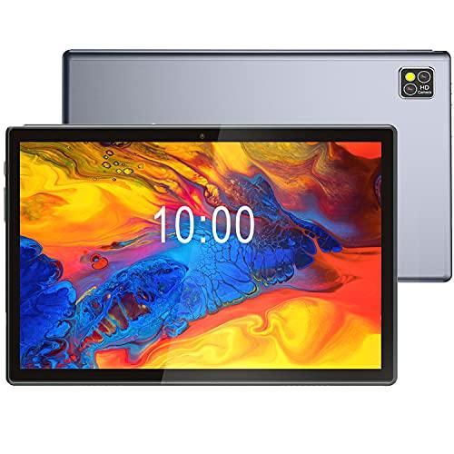 Tableta 10.1 Pulgadas Android 10.0 Octa-Core 6GB RAM 128GB ROM 5G WiFi 7000mAh 1280 * 800 IPS 1.5GHz ZONMAI Tablet PC, Soporte Dual Sim 4G LTE, Cámara 2+5MP, Bluetooth 4.3 GPS - Gris
