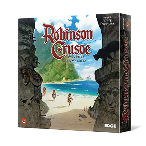 Edge Entertainment EDGRC01- Robinson Crusoe, Aventuras en la isla maldita , color/modelo...