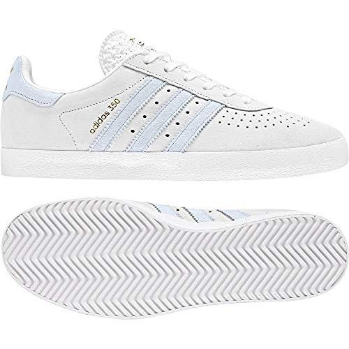 Adidas 350 W, Zapatillas de Deporte para Mujer, Blanco (Ftwbla/Tinazu/Ftwbla 000), 40 2/3 EU
