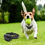 LSM GPS Wireless Dog Fence System,In-ground/Aboveground Pet Containment System,IP66 Waterproof&Rechargeable Collar,Shock&Tone Correction Distance