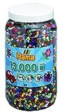 Hama 211-67 - Bügelperlen Dose mit ca. 13.000 Perlen, volltonmix