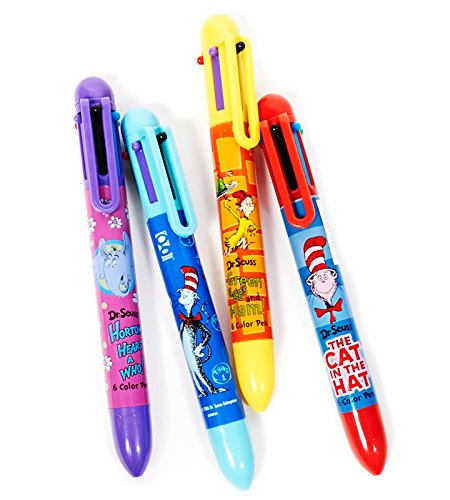 BirthdayExpress Dr Seuss Party Supplies - Color Pens (12)