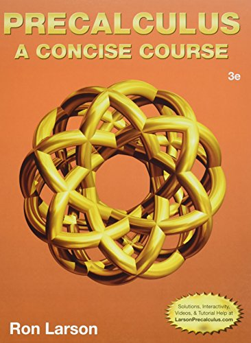 Precalculus + Enhanced Webassign With Ebook Loe Printed Access Card for One-term Math and Science: A Concise Course