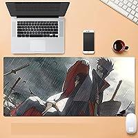 ナルト大型マウスパッド壁紙アニメ人気のベースコンピュータ周辺機器コミックゲーム滑り止めファッション800 * 300 * 3mm-A_900*400mm