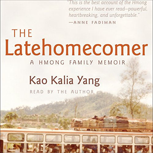 The Latehomecomer audiobook cover art