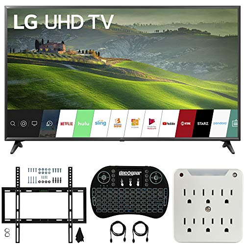 For Sale! LG 65UM6900 65-inch 4K UHD Smart TV with TruMotion 120 (2019) Bundle with Deco Mount Flat ...
