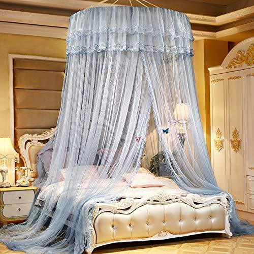 SXFYHXY Ciel de lit pour Bebe Fille garçon Maison de Jeux, pour lit Enfants Jouant/Lecture, Filet pour Rideaux en Forme de dôme Ciel de lit Tente de lit