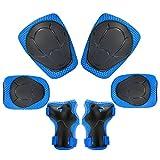 Dolami 3 in 1 Kit Protezione Ginocchiere Bambini(4-10 Anni) con 2X gomitiere,2X...