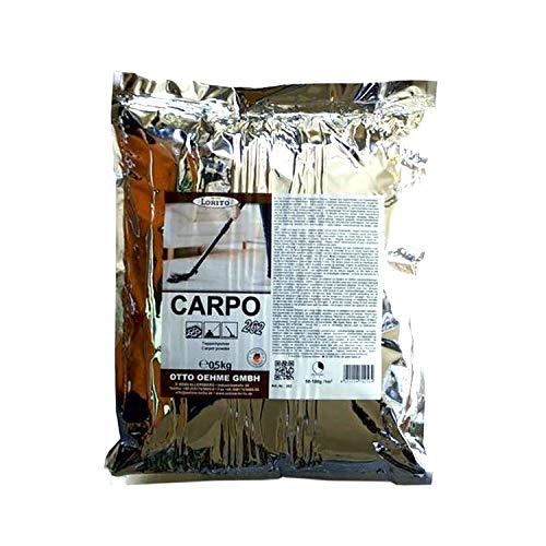 Lorito Carpo Teppichreinigungspulver, Teppichreiniger, Teppichpulver 0,5kg für 10-15qm