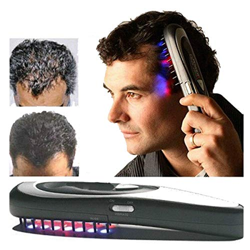 Hair Brush Hair Growth, STCORPS7 Anti Hair Loss Treatment Electric Hair Comb Massage Brush for Daily Home Use
