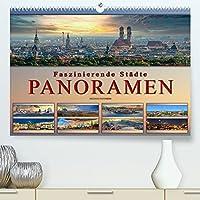 Faszinierende Staedte, Panoramen (Premium, hochwertiger DIN A2 Wandkalender 2022, Kunstdruck in Hochglanz): Eindrucksvolle Staedte der Welt in aussergewoehnlichen Panoramen. (Monatskalender, 14 Seiten )