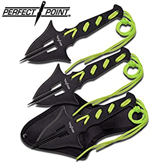 New Perfect Point Fantasy Manta Ray Spike Throwing ProTactical'US - Limited Edition - Elite Knife with Sharp Blade Set Triple 3 Piece