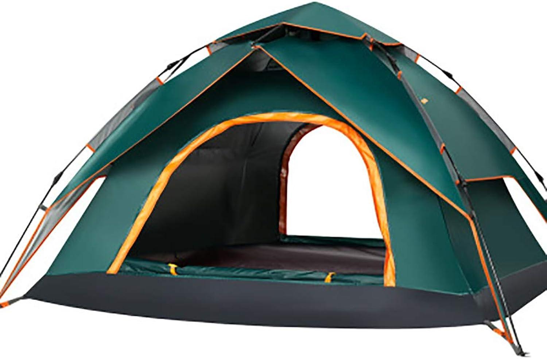 ZMEETN Pop Up Zelt Für Camping,3-4 Personen Familie Zelt Shelter Mit Tragetasche Für Sport Backpacking Picknick Wandern Reisen Strand
