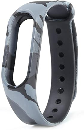 MStick Camouflage Grey Band Strap for Xiaomi Mi Band 2   Xiaomi MI Band HRX Edition   Xiaomi Mi Band HRX Version