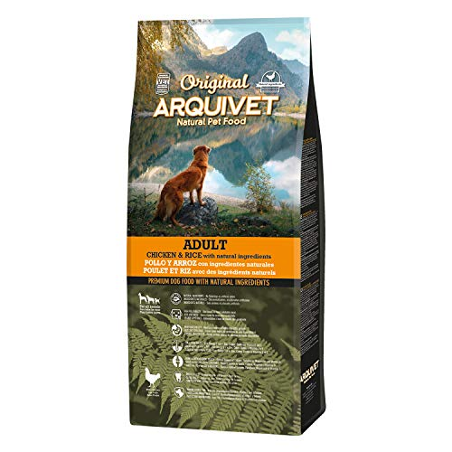 Arquivet Original Adult - Pienso para Perros Adultos - Pollo y arroz - Comida para Perros - Alimento seco para Perros - Alimentación Canina - Pienso Saludable - 12 kg